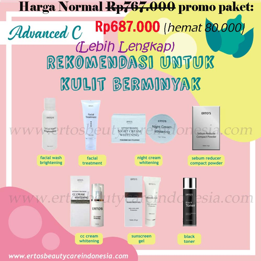 Agent Ertos Beauty Care 100 Masker Jerawat Anti Acne Mask By Terbaru Dari
