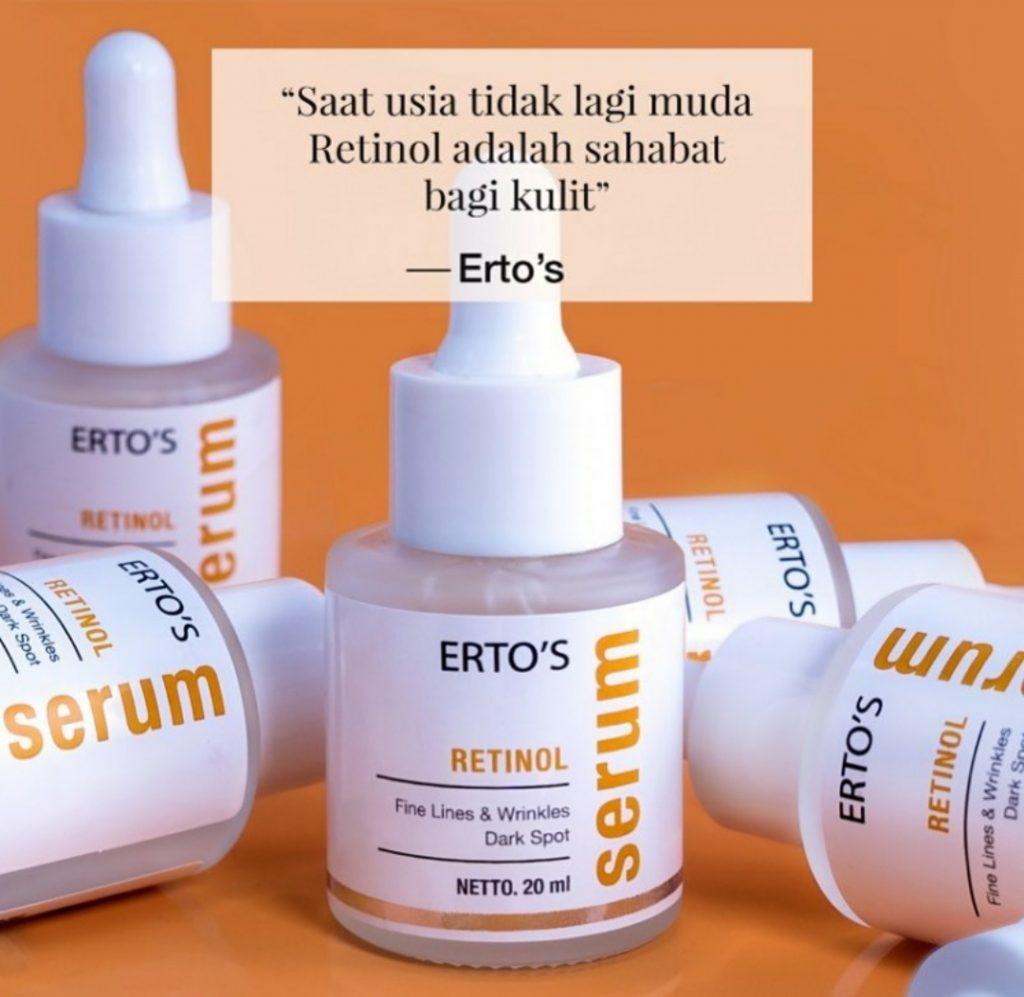 serum retinol ertos